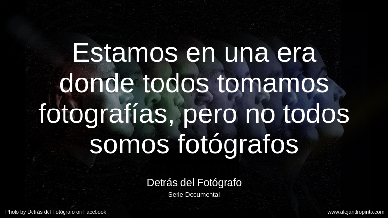 Detrás del Fotógrafo, de Pereira para Colombia