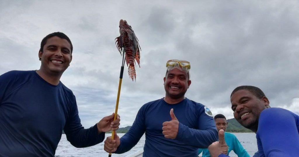Falta derribar mitos sobre su veneno para fomentar su consumo y que los pescadores tengan un incentivo económico para sumergirse a grandes profundidades y capturarlo. Foto: Parques Nacionales Naturales de Colombia.