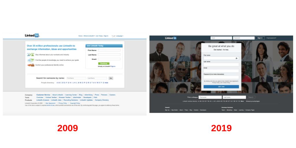 Cómo ha cambiado Linkedin, la red social para profesionales