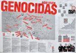 accion artistica- aqui viven genocidas