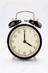 reloj a las cuatro