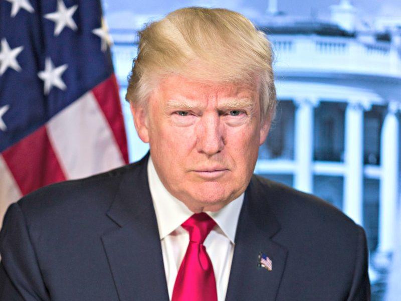 Donald Trump. Foto: Casa Blanca.