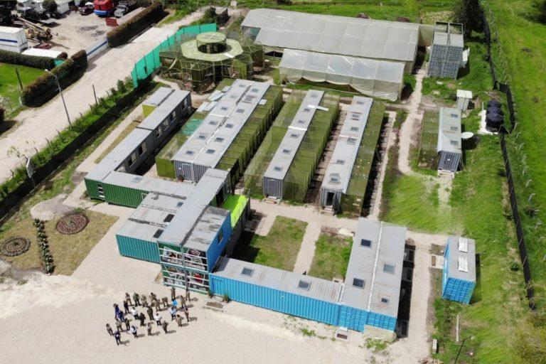 Vista aérea del Centro de Fauna Silvestre de Bogotá. Foto: Instituto Distrital de Protección y Bienestar Animal.