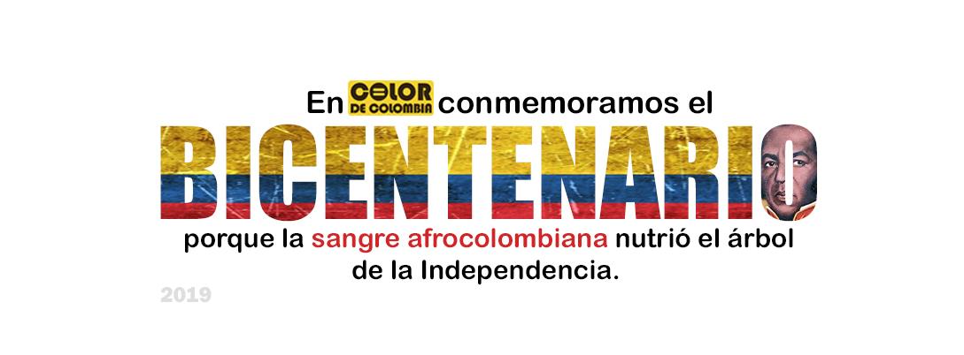 Bicentenario de la Independencia de Colombia. Por: Color de Colombia.