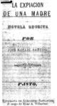La expiación de una madre, 1894.