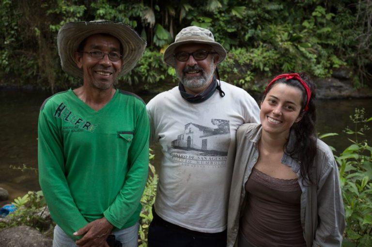 Investigadores de la expedición Santander BIO. Foto: Felipe Villegas – Instituto Humboldt.