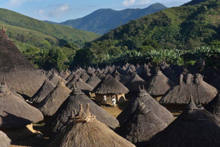 Asentamiento de Pueblo Viejo (comunidad Kogui) en la Sierra Nevada de Santa Marta. Foto: Defensoría del Pueblo.