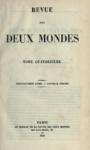 Revue des Deux Mondes 1852