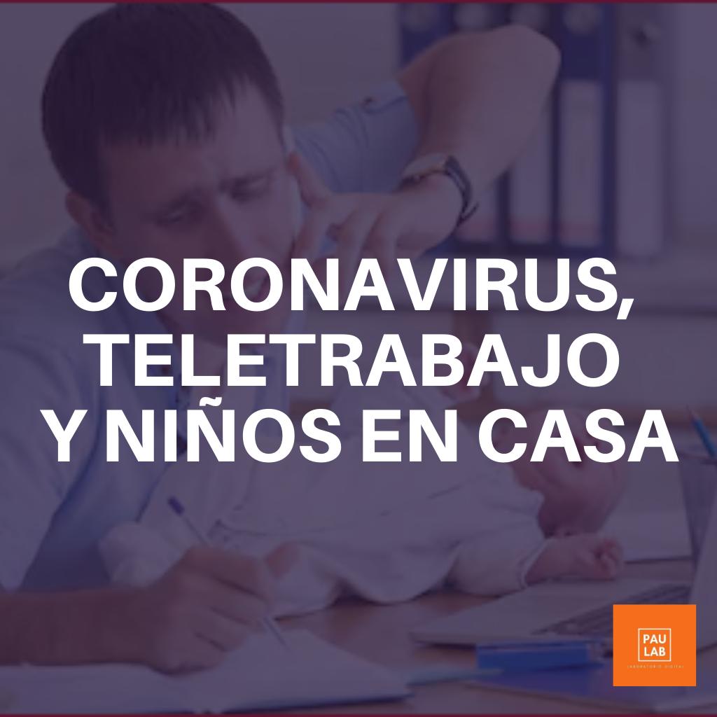 Coronavirus y teletrabajo
