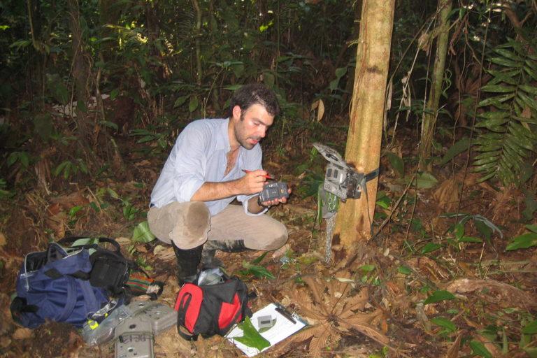 Al científico colombiano Esteban Payán le preocupa la transmisión del coronavirus de humanos a felinos. Foto: Esteban Payán.