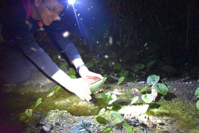 Santiago Ron ha debido suspender su salida a campo para la búsqueda de ADN de anfibios.
