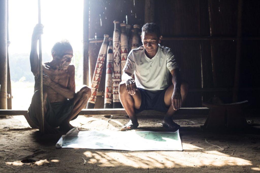 En los departamentos de Guainía, Vaupés y Amazonas, la mayoría de la población es indígena. Foto: Juan Gabriel Soler, Fundación Gaia Amazonas.