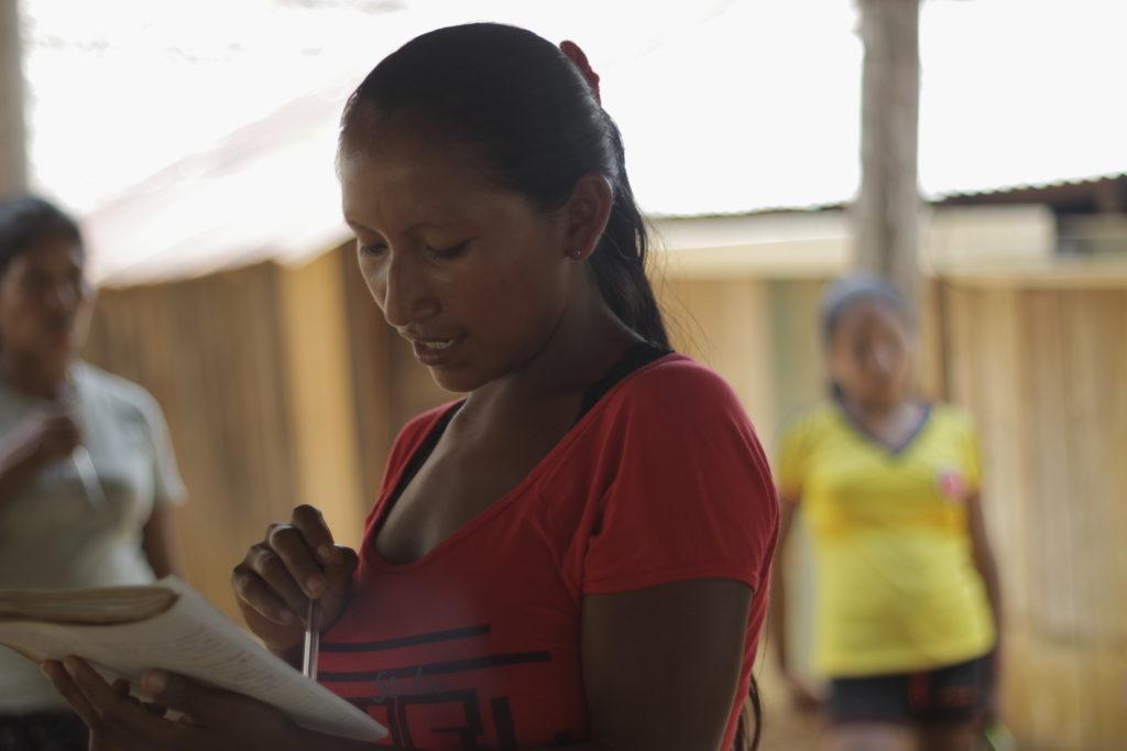Los indígenas amazónicos llevan décadas reclamando la creación de las Entidades Territoriales Indígenas (ETI). Foto: Canela Reyes, Fundación Gaia Amazonas.