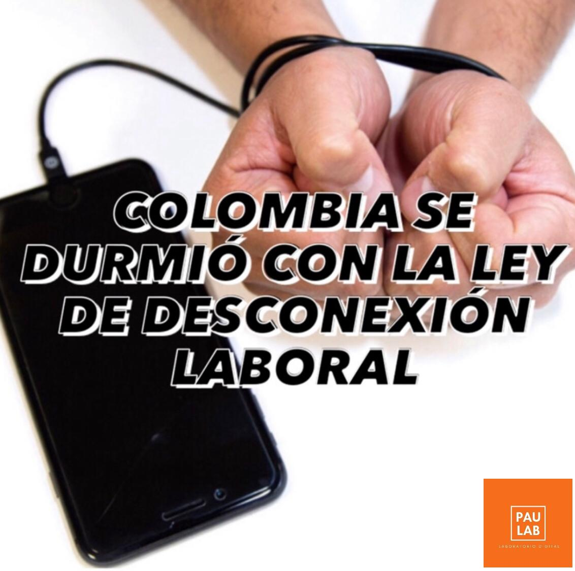Desconexión laboral en Colombia