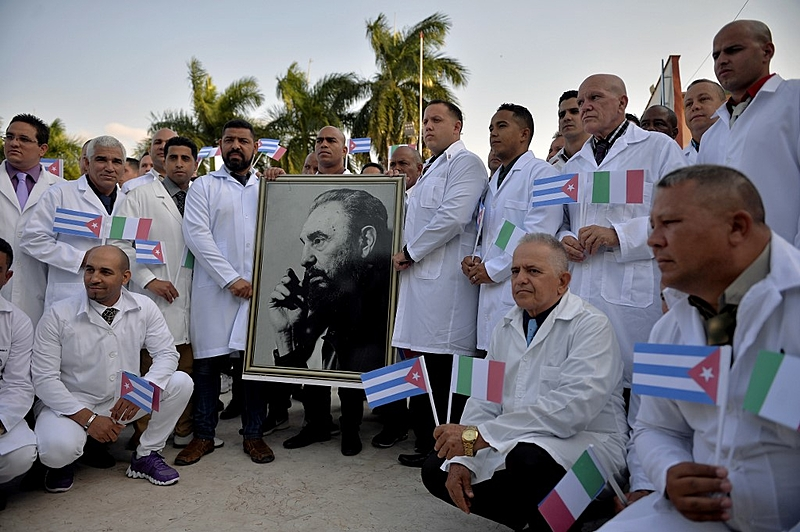 Misión médica cubana
