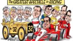 Juan Pablo Montoya legends Gary Varvel