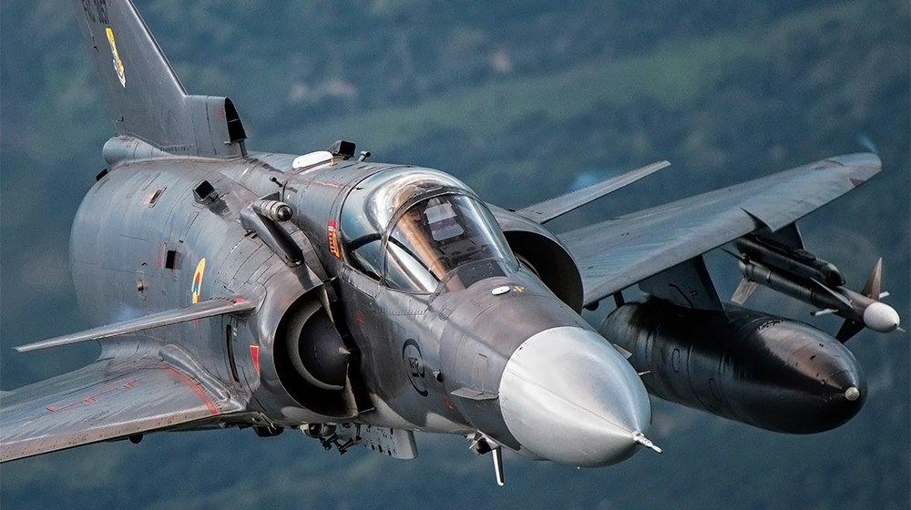 """Los Kfir, conocidos como """"Cachorros de León"""", son la principal arma de combate de la Fuerza Aérea Colombiana."""