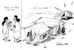 caricatura desaparecidos