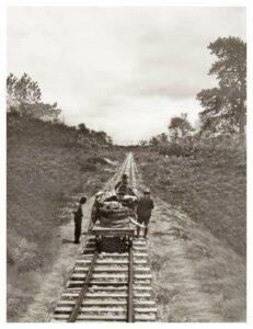 Vía férrea entre el Diviso y Tumaco. 1926.