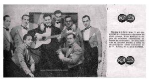 Nano Rodrigo y su Orquesta. Archivo: Jaime Jaramillo Suárez.